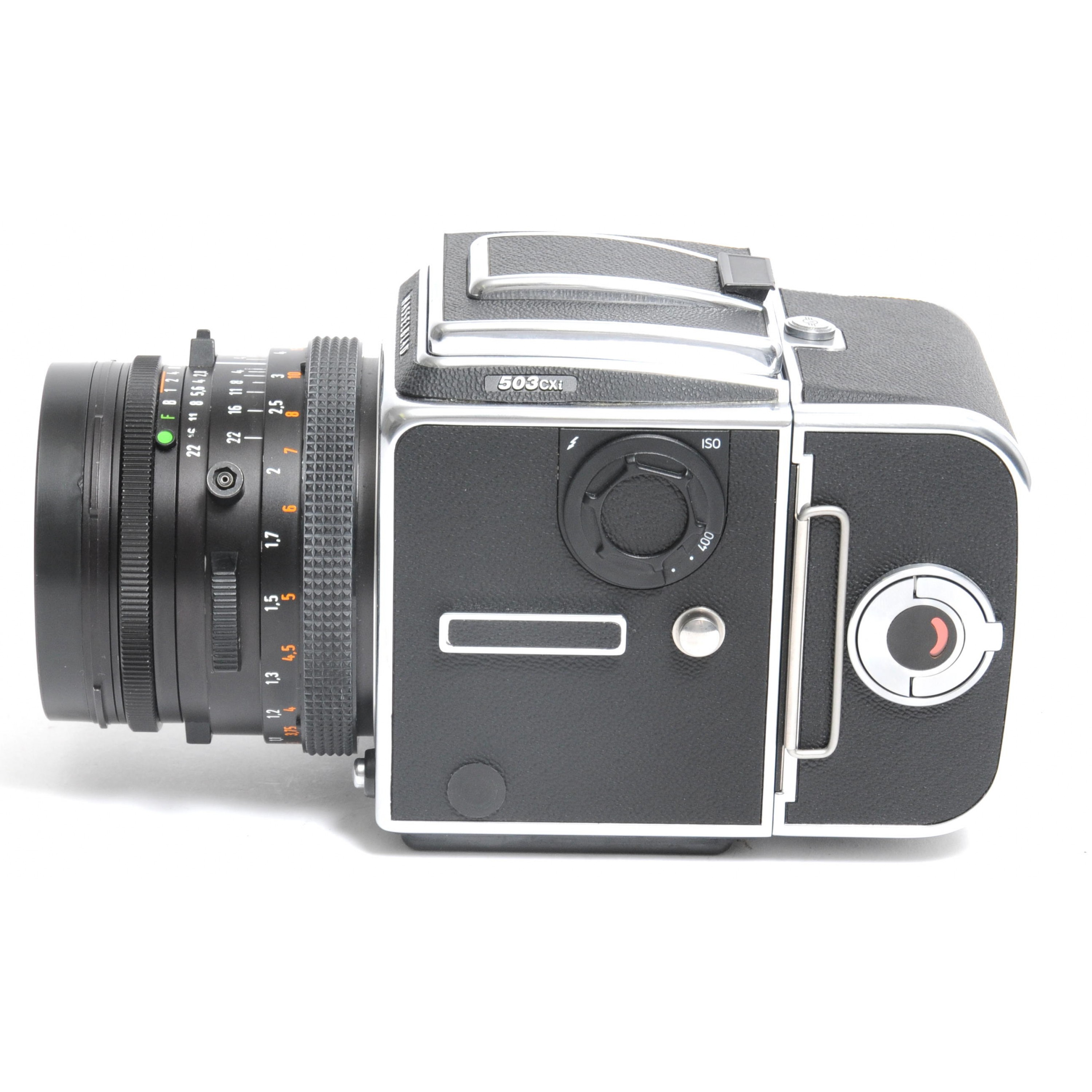 Hasselblad  503 CXi  Camera  Carl Zeiss Planar 2.8 / 80mm T*  with A12 Magazin