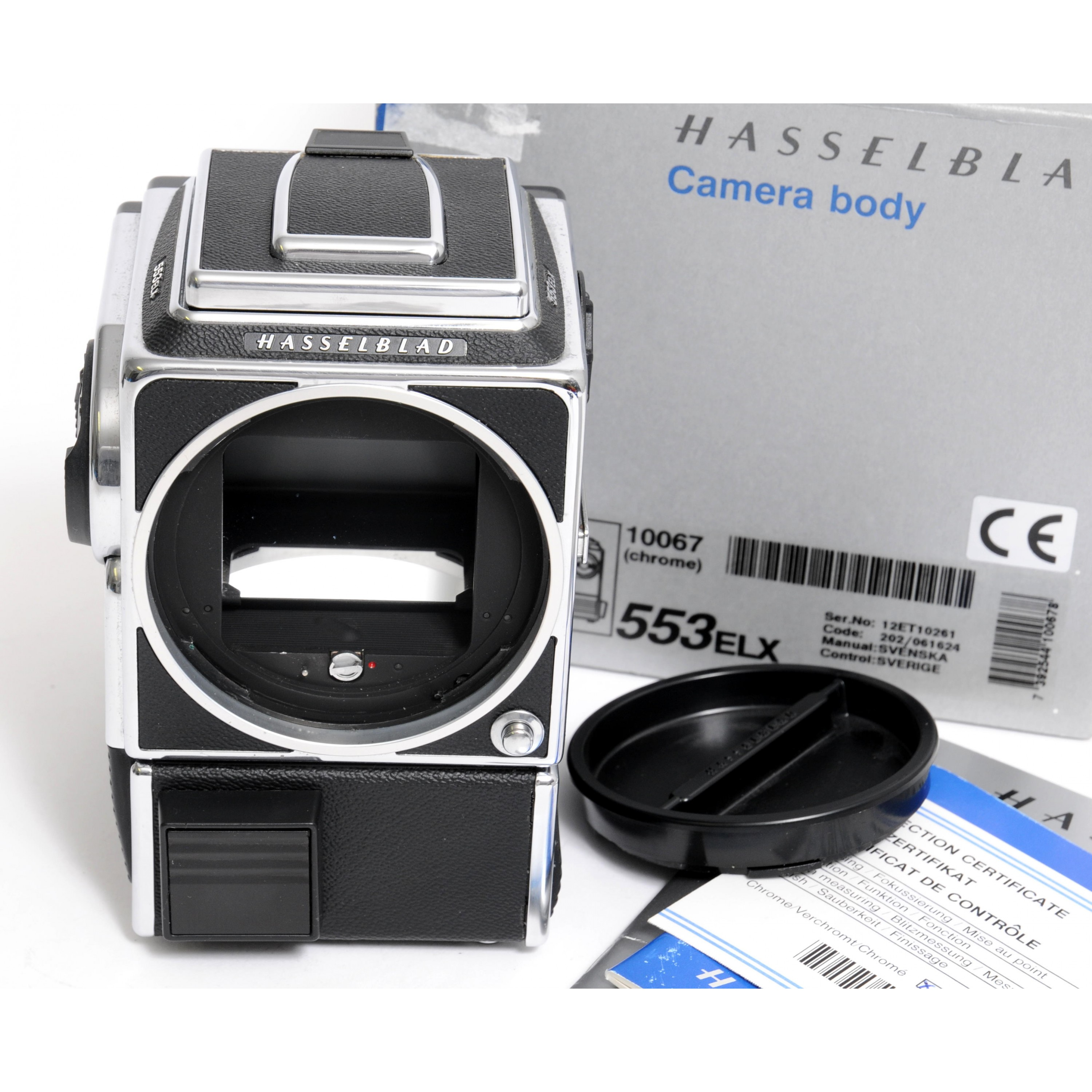 Hasselblad 553 ELX  boxed 3010067 very good condition!