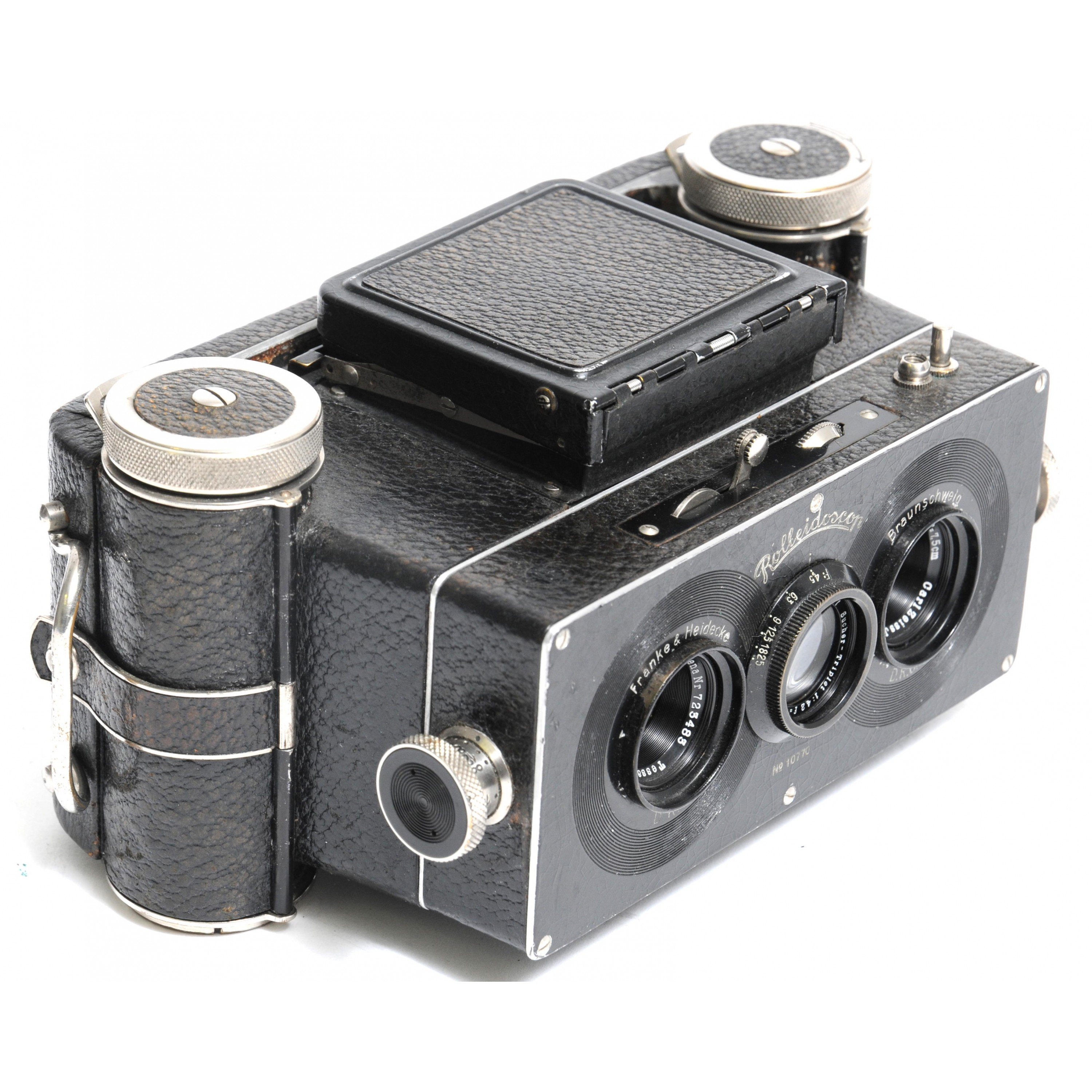 Stereo Rolleidoscop for 120 Rollfilm , Vintage Rollei 9x13