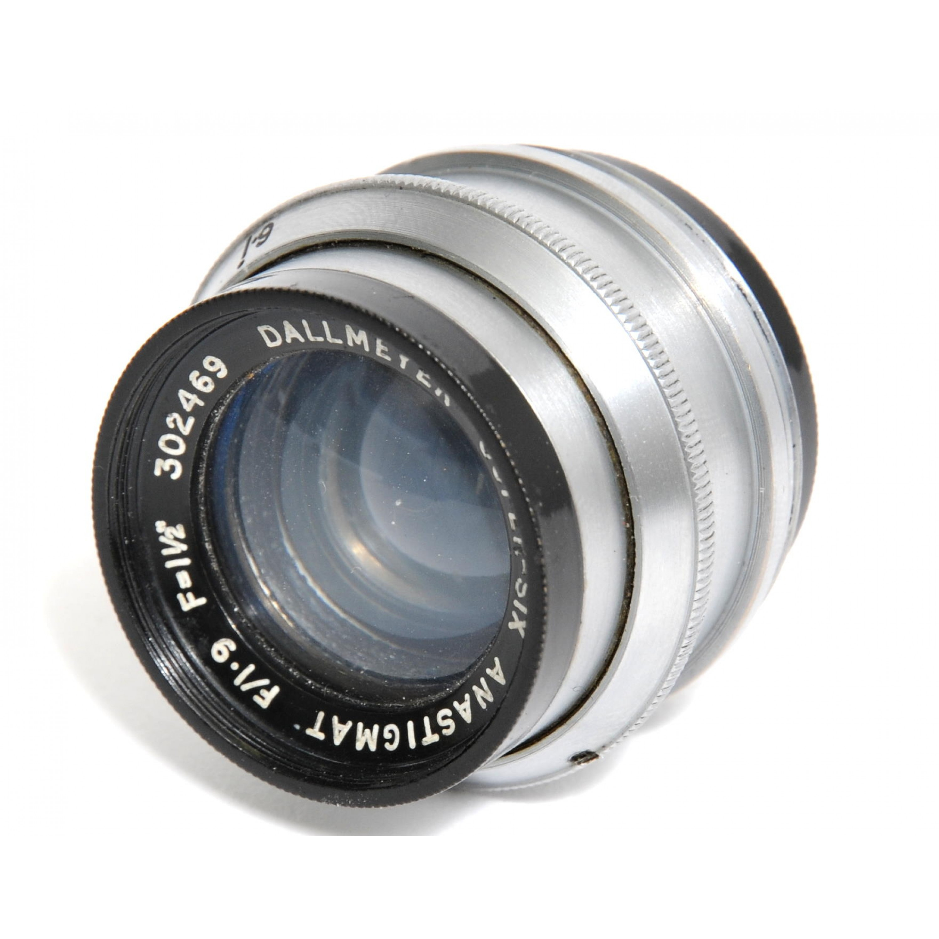 Dallmeyer Super-Six Anastigmat F/1.9/38mm  F=1 1/2 inch  C Mount